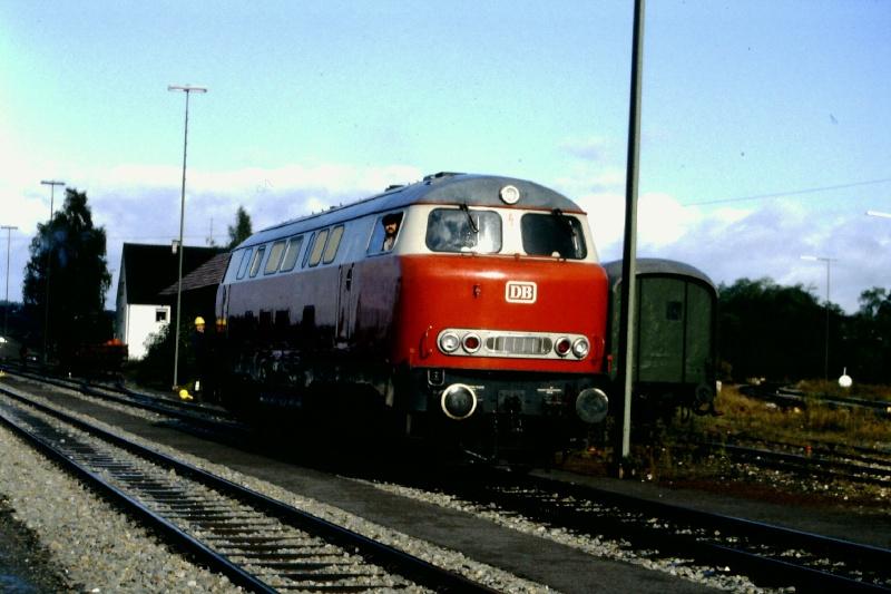 Die V160-Familie, Baureihe 210-219 der DB 2015-152