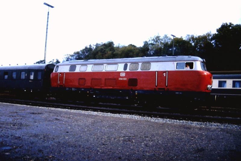 Die V160-Familie, Baureihe 210-219 der DB 2015-153