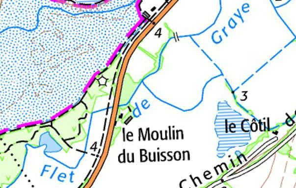 Blockhaus Moulin du Buisson (combats brigade Piron Août 44) Moulin10