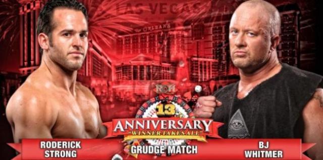 ROH 13th Anniversary du 1/03/2015 Grudge10