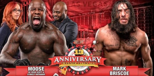ROH 13th Anniversary du 1/03/2015 Mooseb10