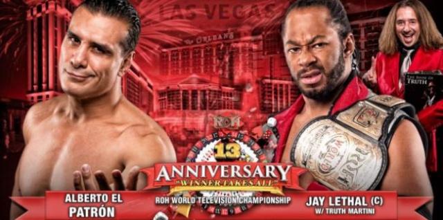 ROH 13th Anniversary du 1/03/2015 Patron10