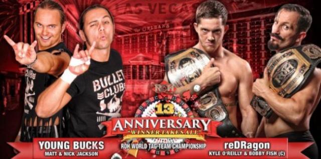 ROH 13th Anniversary du 1/03/2015 Tagful10