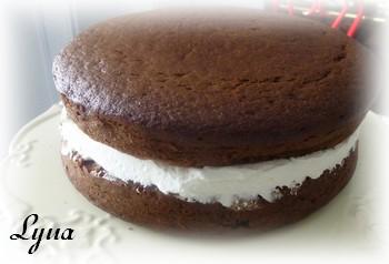 Gâteau au chocolat de Francine Marchand (ma version) Franci11