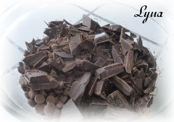 Ganache au chocolat pour gâteau Ganach10