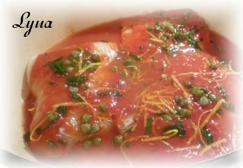 Morue sauce tomate et citron Morue310