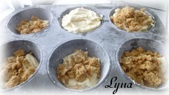 Muffins à la crème sûre et streusel Muffin11