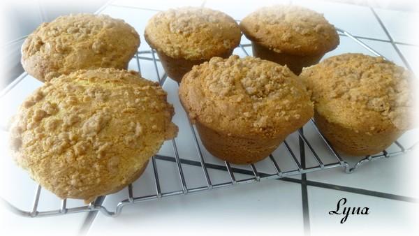 Muffins à la crème sûre et streusel Muffin12