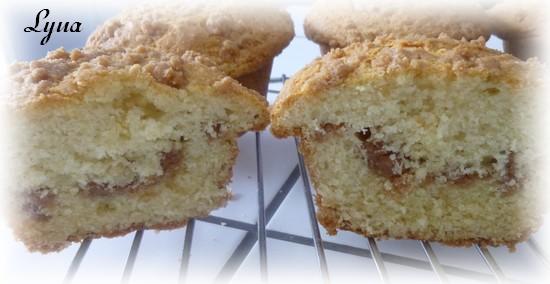 Muffins à la crème sûre et streusel Muffin13