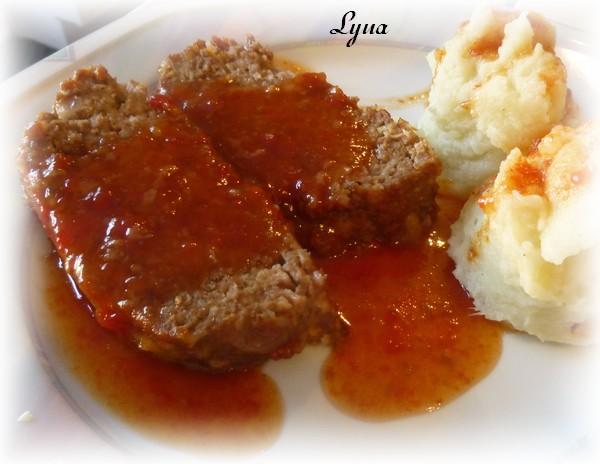 Pain de viande boeuf et saucisses Pain_d13