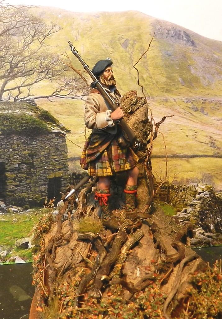 Highlands clansman (54mm) 00213