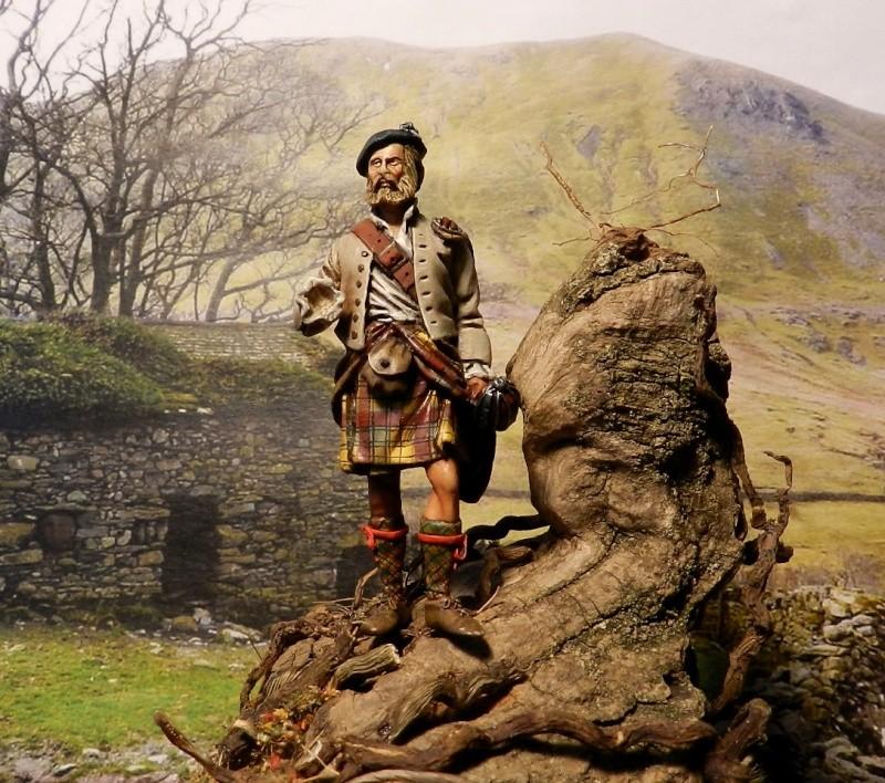 Highlands clansman (54mm) 00414