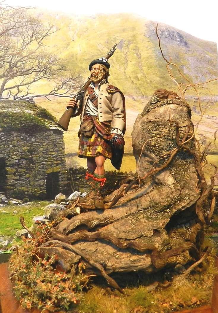 Highlands clansman (54mm) 00415