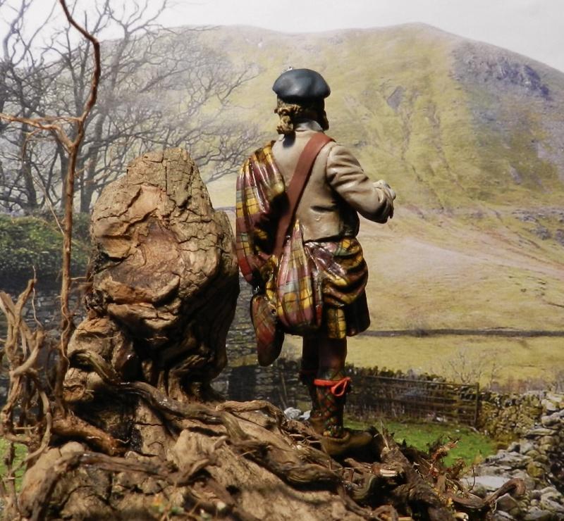 Highlands clansman (54mm) 00512