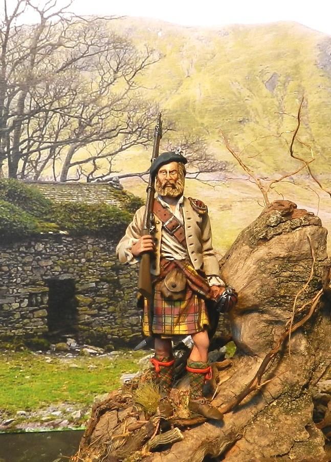 Highlands clansman (54mm) 00612