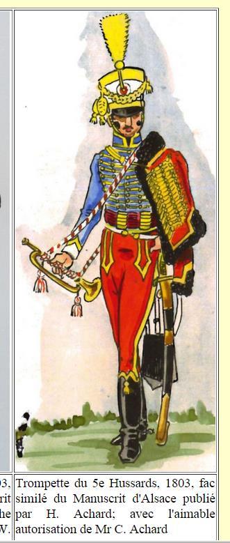 Trompettes du 9ème Hussards Ka10