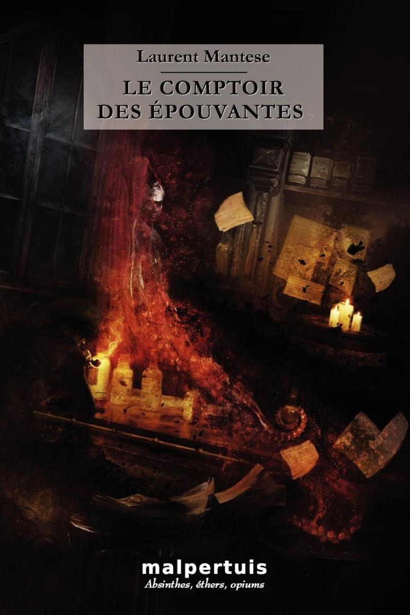 Le comptoir des épouvantes de Laurent Mantese Arton610