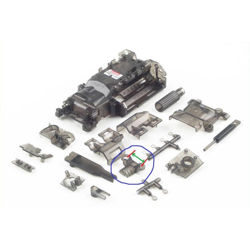 Remplacer châssis MR-03 par un MR-03 VE suite à casse. _5710