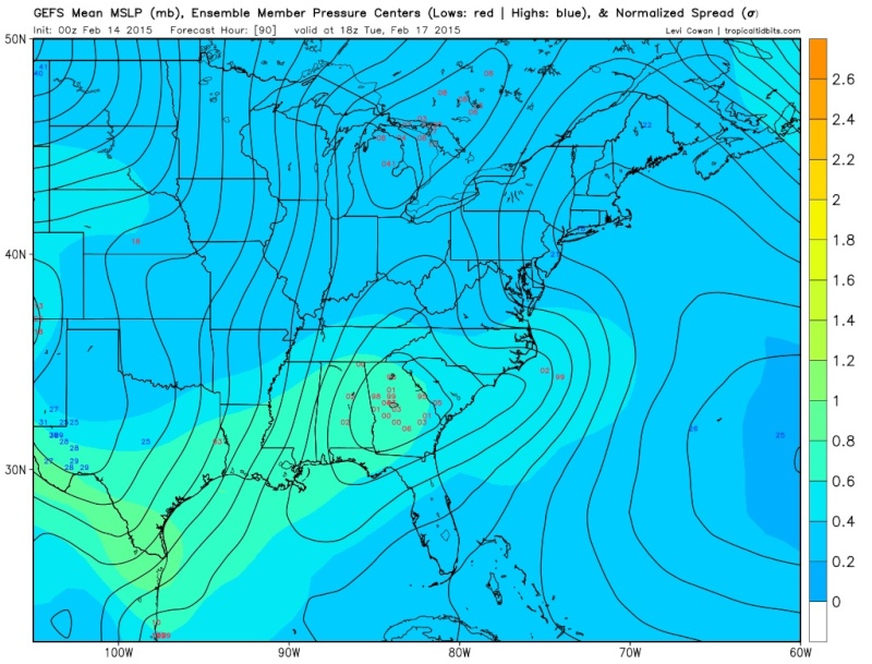 Winter Storm Threat 16th-18th - Page 4 Gefs_e10