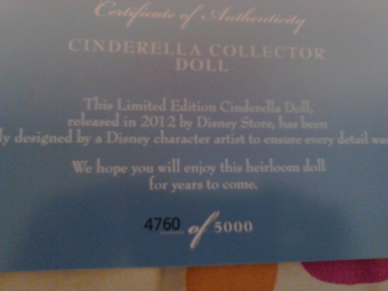 Disney Store Limited Edition (depuis 2009) - Page 3 Img_2037