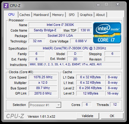 Difference cpu ES  121