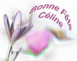 Bonne fête Céline Images29