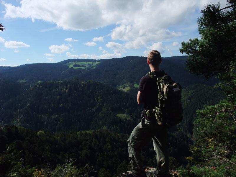 Hornberg Schwarzwald, Sortie dans la Forêt Noire !  Dscf4310