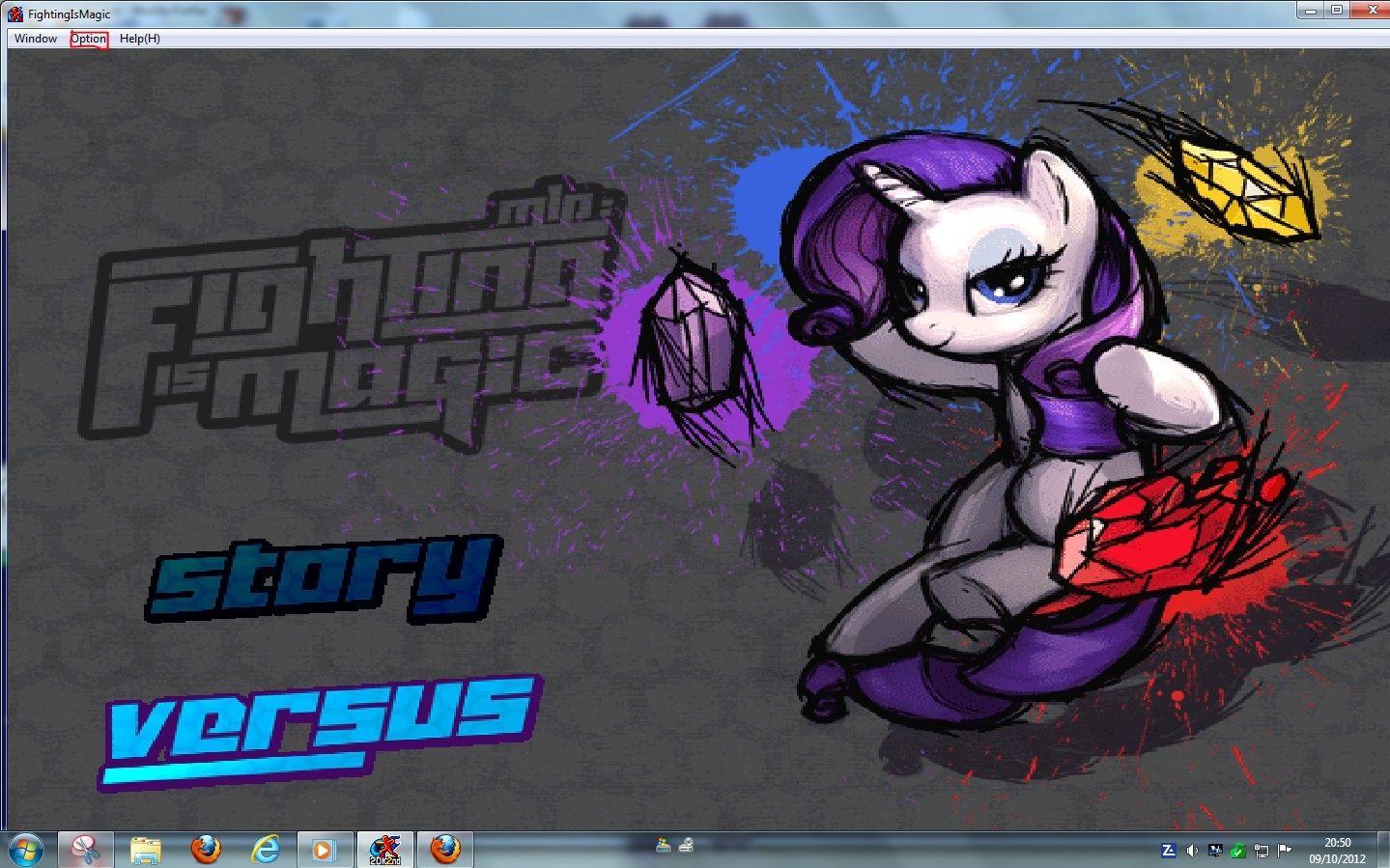 MLP Fighting is Magic: Un nouveau FanGame développé par Mane6 Mlp_ma10