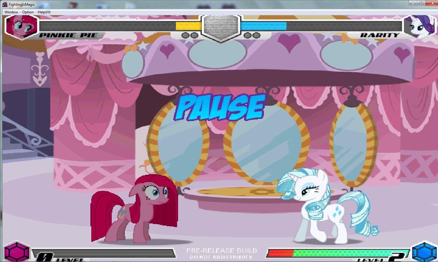 MLP Fighting is Magic: Un nouveau FanGame développé par Mane6 Pinkan12