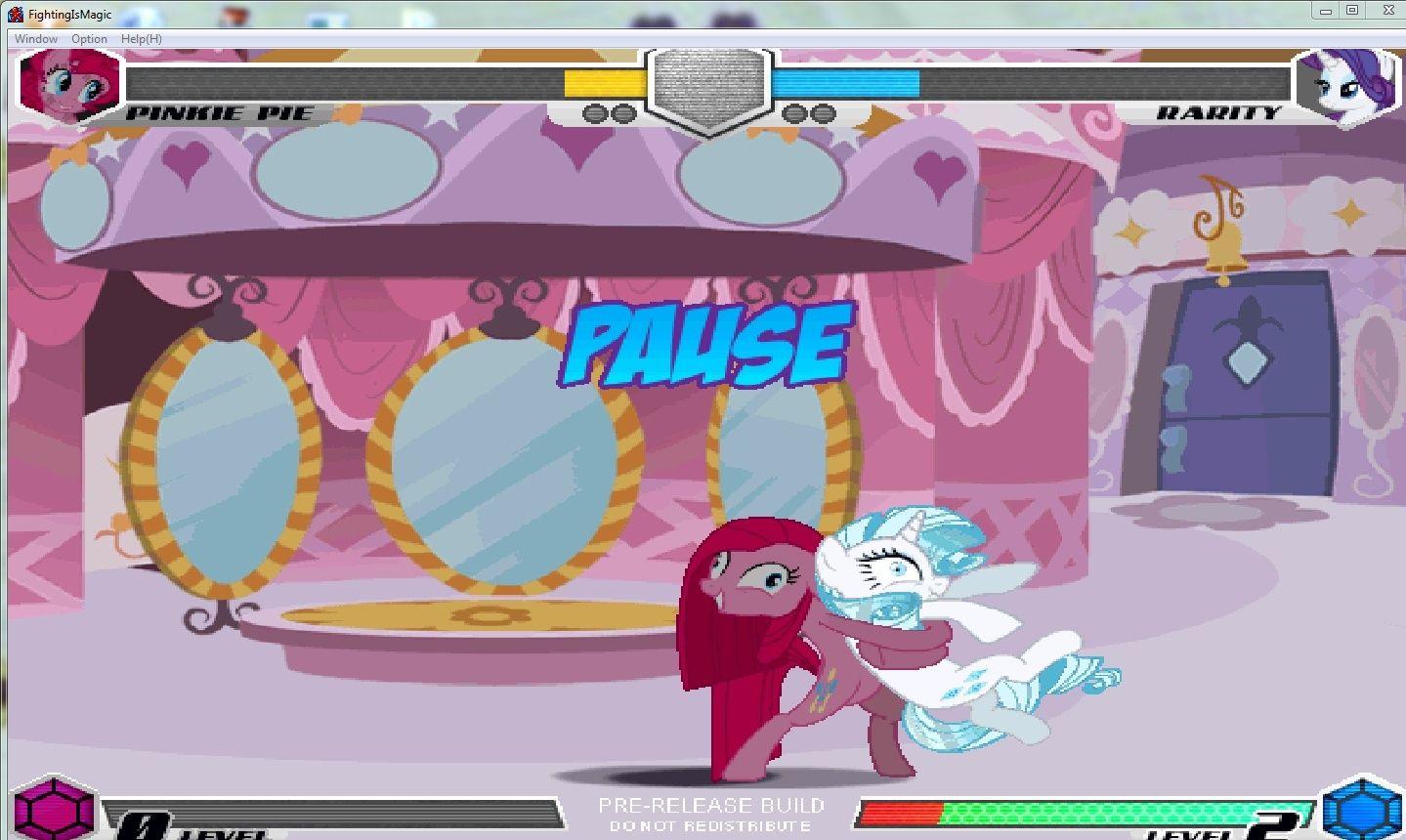 MLP Fighting is Magic: Un nouveau FanGame développé par Mane6 Pinkan13