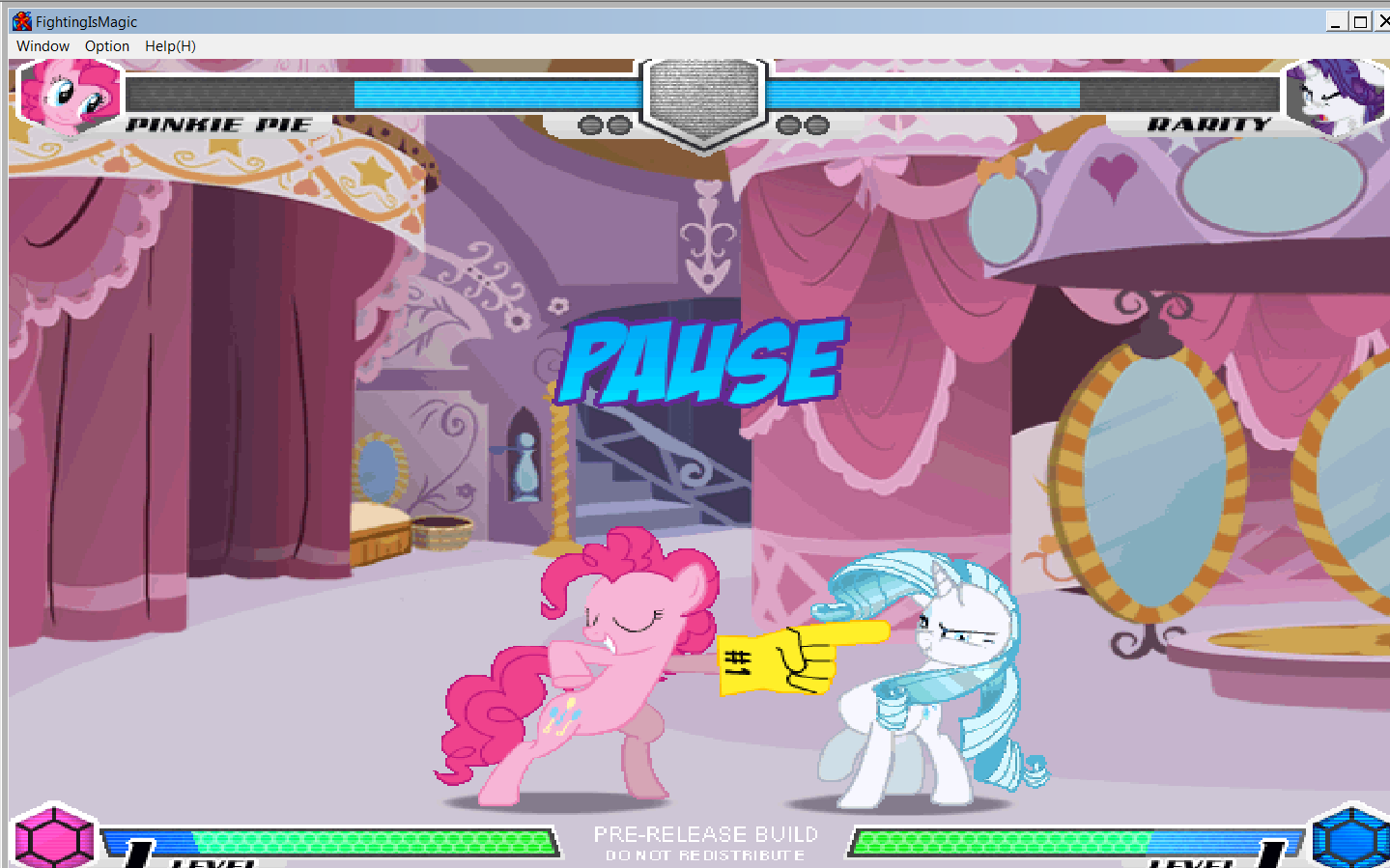 MLP Fighting is Magic: Un nouveau FanGame développé par Mane6 Pinkie11