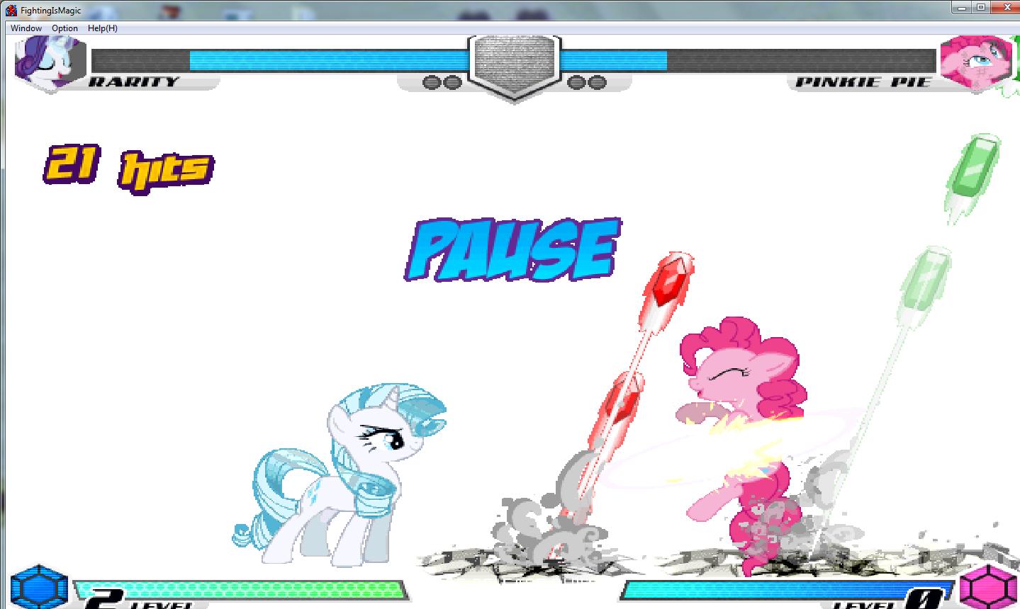 MLP Fighting is Magic: Un nouveau FanGame développé par Mane6 Rarity10