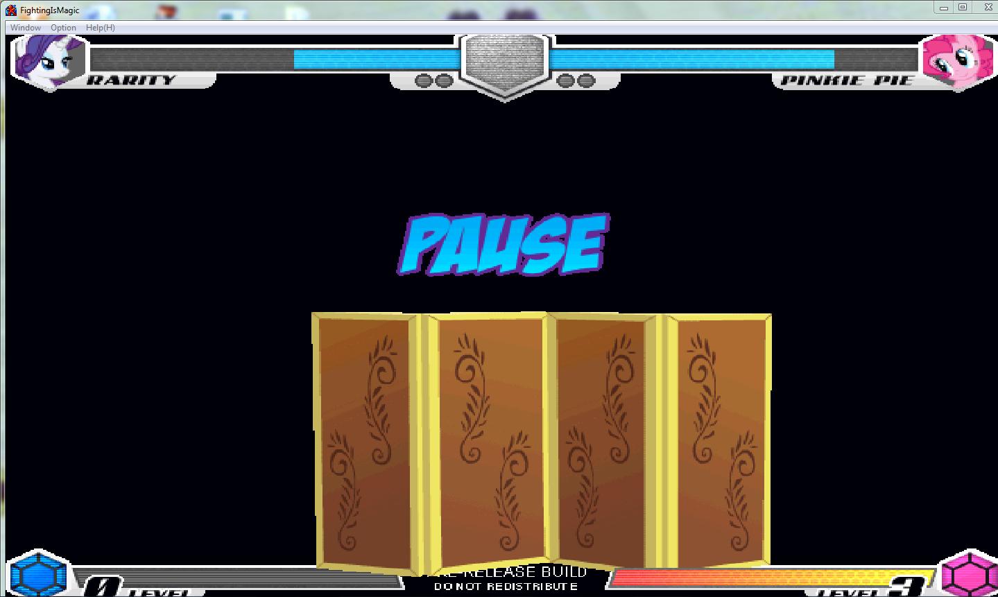 MLP Fighting is Magic: Un nouveau FanGame développé par Mane6 Rarity11