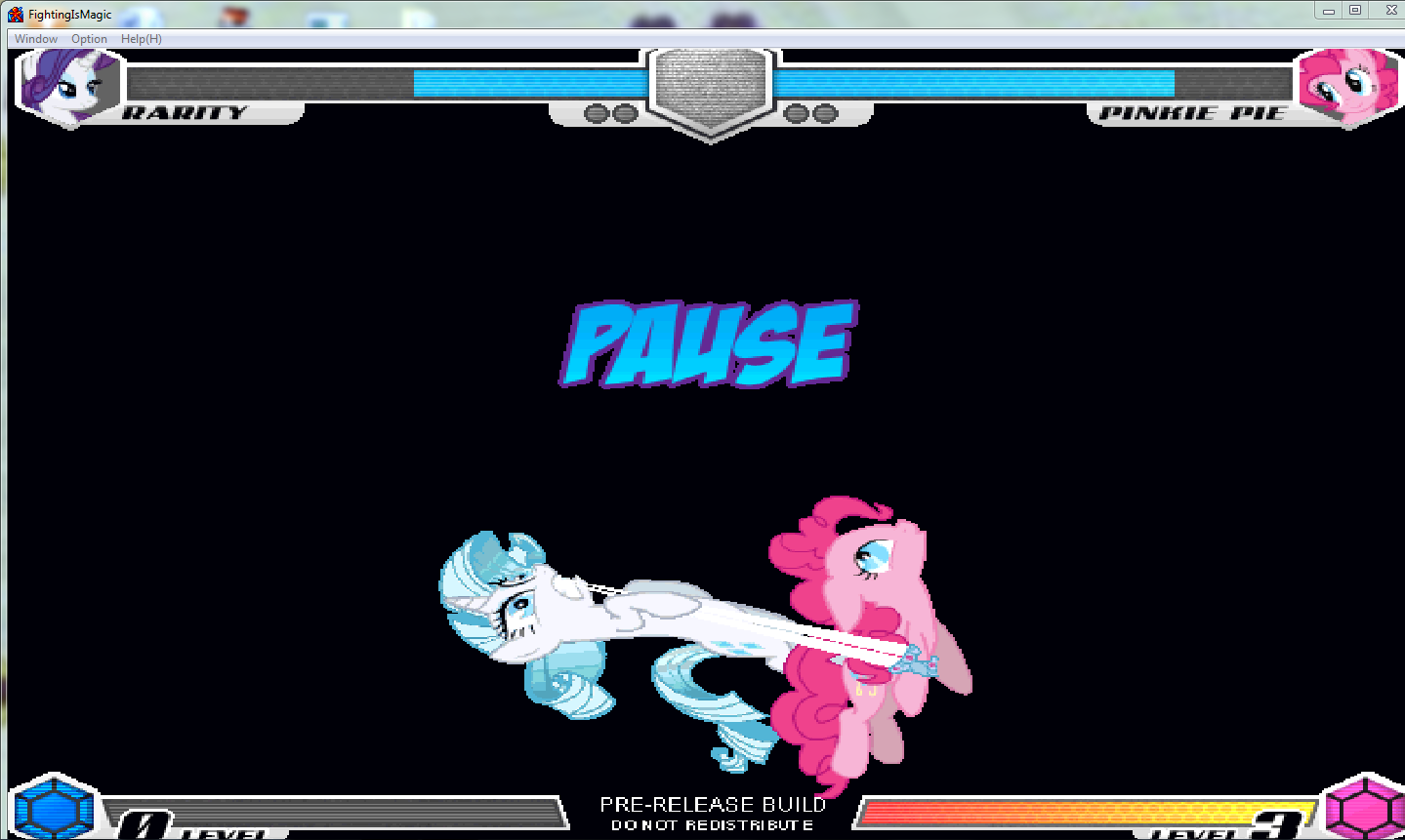 MLP Fighting is Magic: Un nouveau FanGame développé par Mane6 Rarity12
