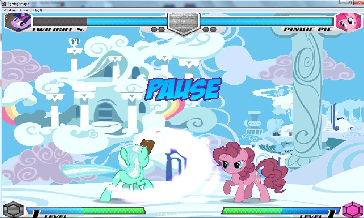 MLP Fighting is Magic: Un nouveau FanGame développé par Mane6 Swipe_10