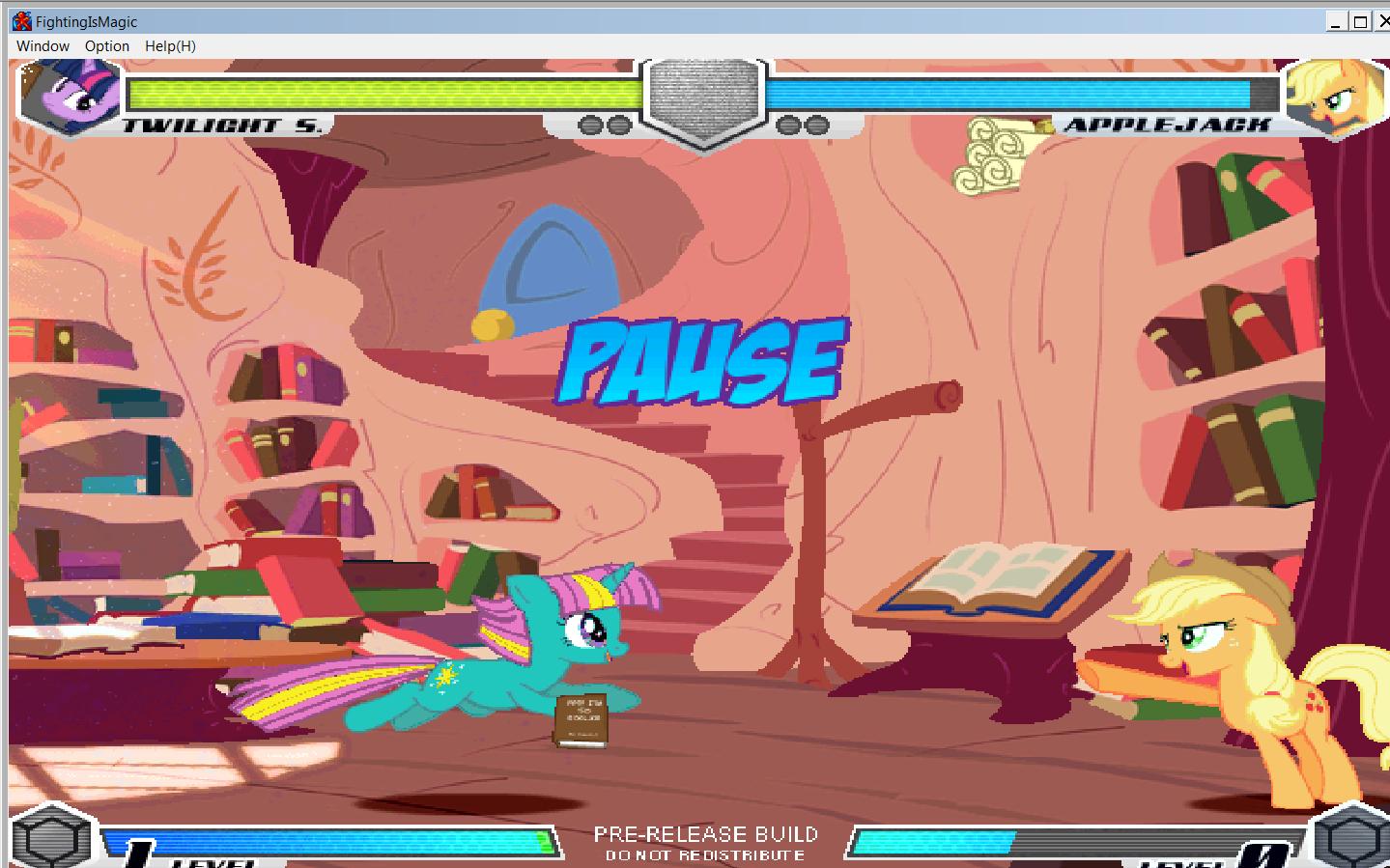 MLP Fighting is Magic: Un nouveau FanGame développé par Mane6 T_spar10