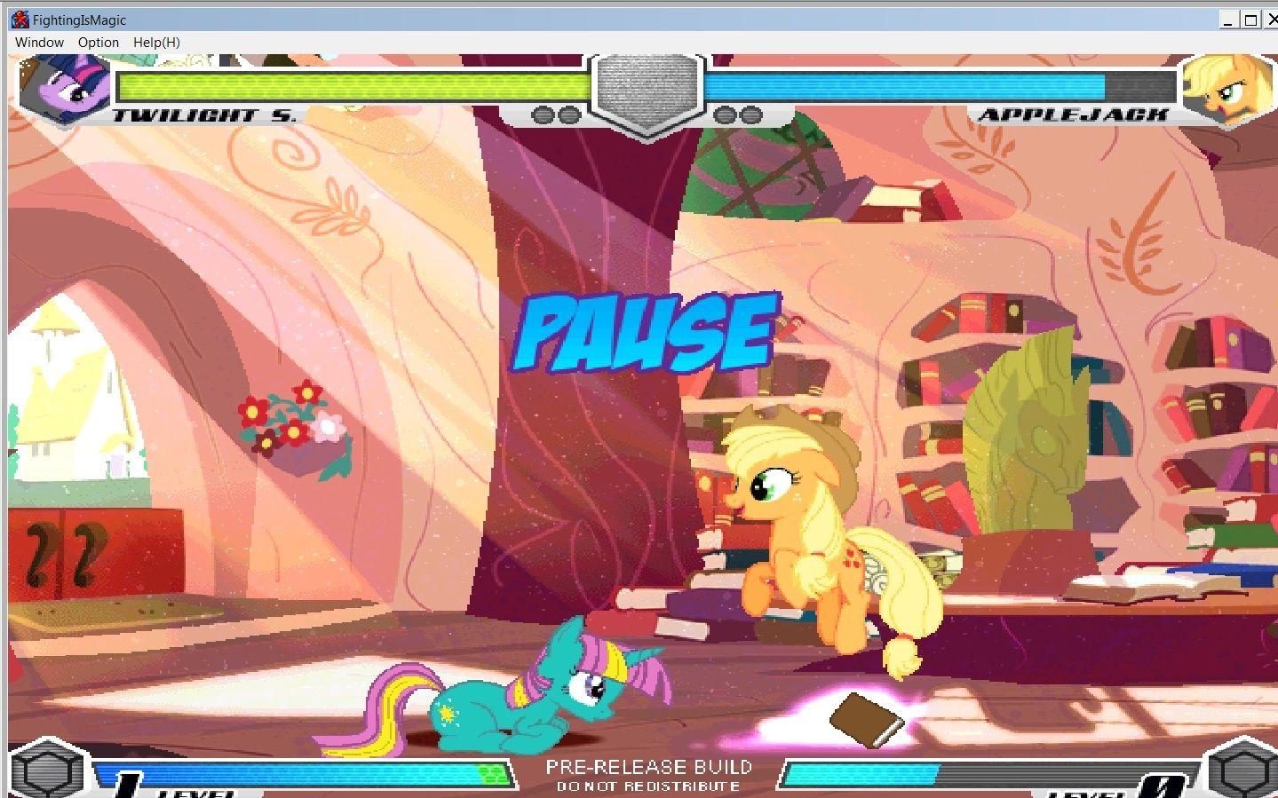 MLP Fighting is Magic: Un nouveau FanGame développé par Mane6 T_spar11