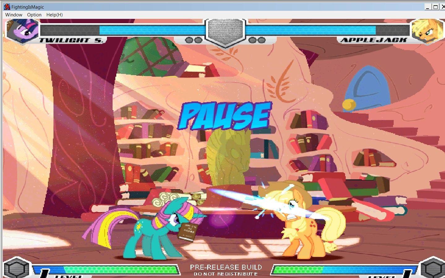MLP Fighting is Magic: Un nouveau FanGame développé par Mane6 T_spar12