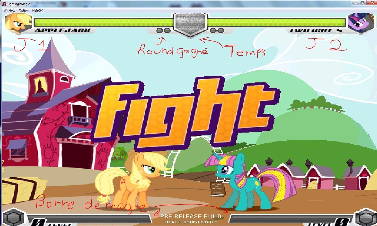 MLP Fighting is Magic: Un nouveau FanGame développé par Mane6 Totu_a10