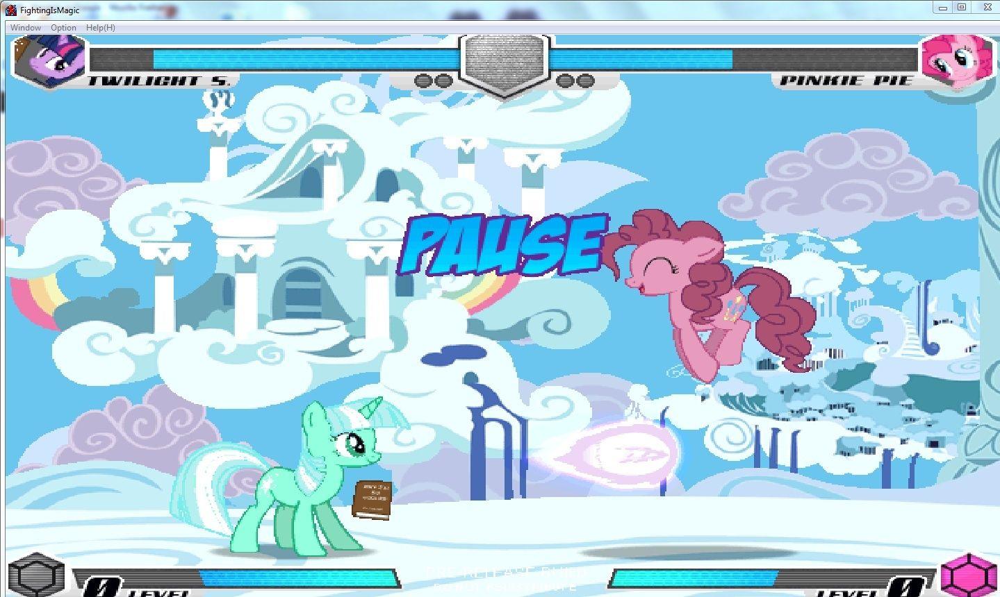 MLP Fighting is Magic: Un nouveau FanGame développé par Mane6 Twilig10