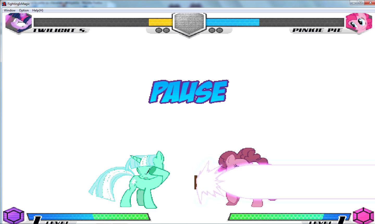 MLP Fighting is Magic: Un nouveau FanGame développé par Mane6 Wow_pi10