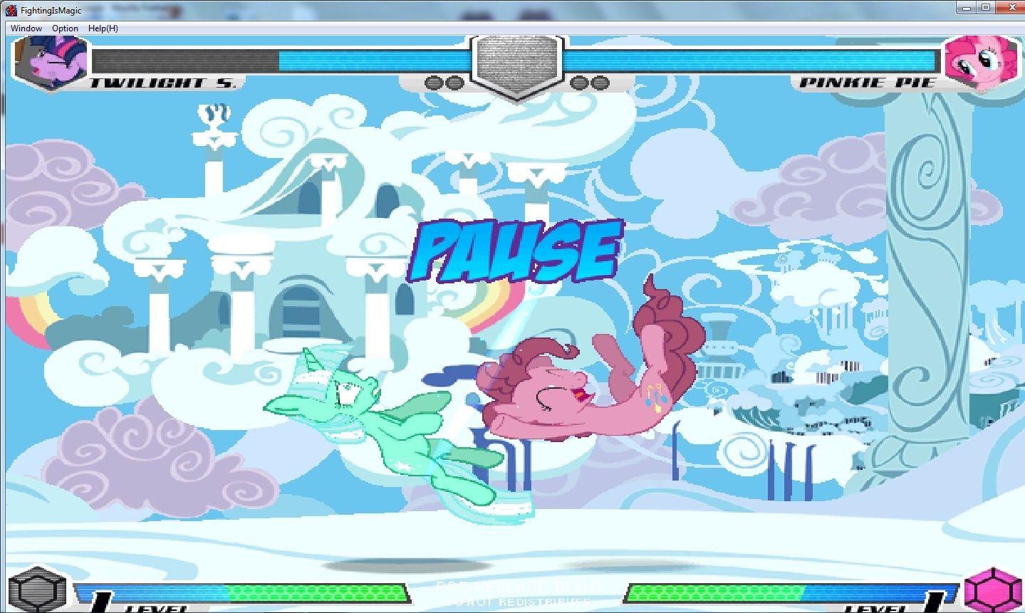 MLP Fighting is Magic: Un nouveau FanGame développé par Mane6 Yiiiii10