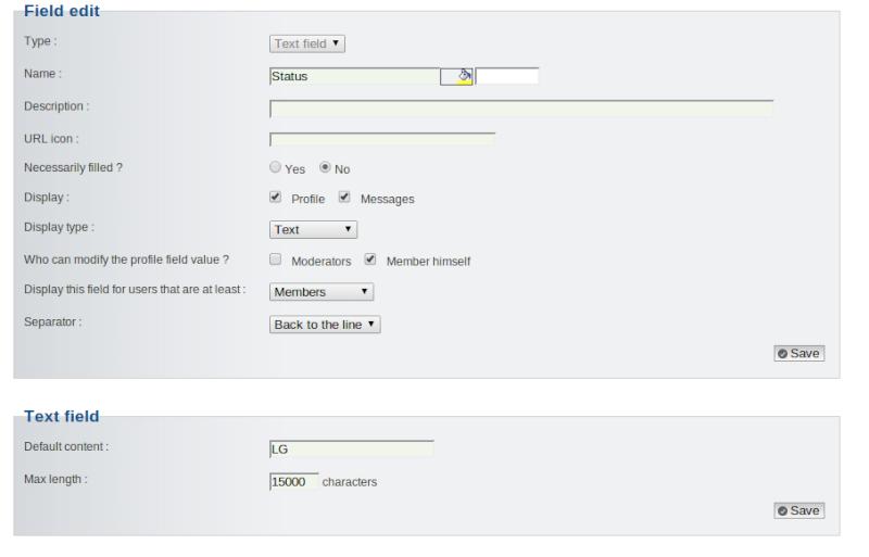 tutorial - Status Update Field (OST) Screen11