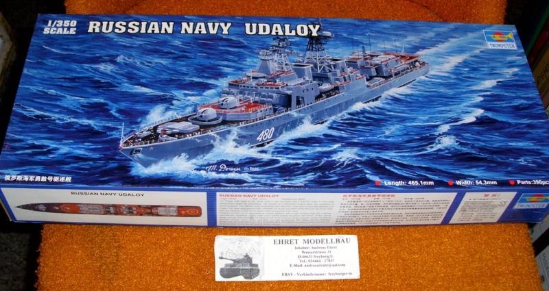Destroyer Udaloy 1/350 Trumpeter F-udal10