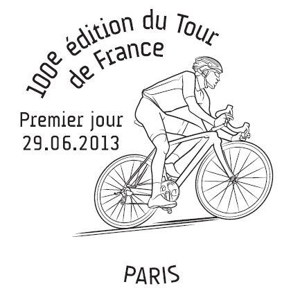 Timbres (France) - Tour de France 2013 (Cyclisme) 1erjou12