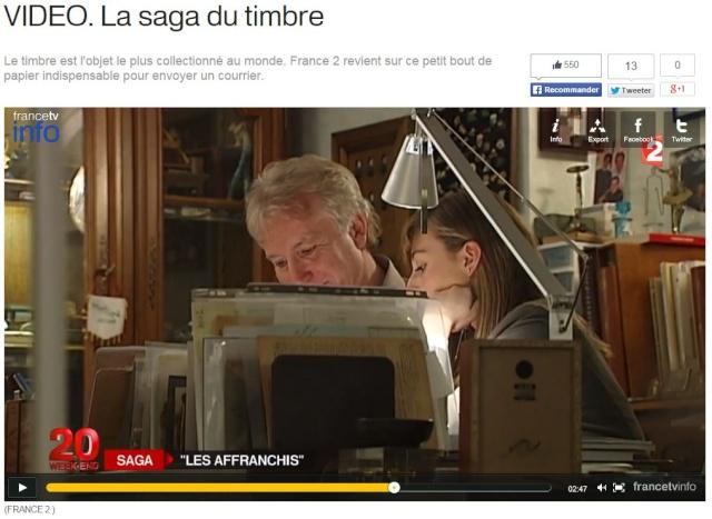 France 2 - JT 20h - La saga du timbre F2_sag10