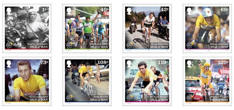 Timbres (Ile de Man) - Tour de France 2013 (Cyclisme) Iom_to10