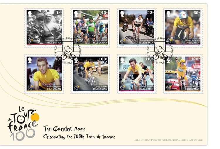 Timbres (Ile de Man) - Tour de France 2013 (Cyclisme) Iom_to11