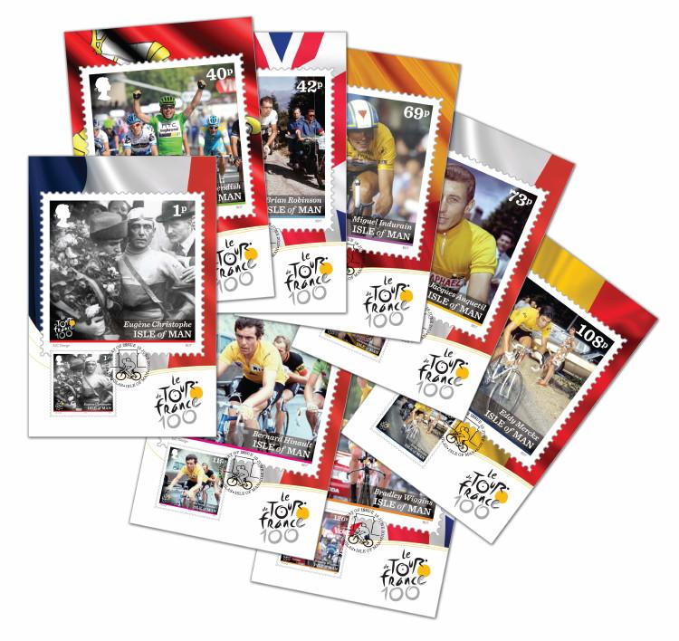 Timbres (Ile de Man) - Tour de France 2013 (Cyclisme) Iom_to12