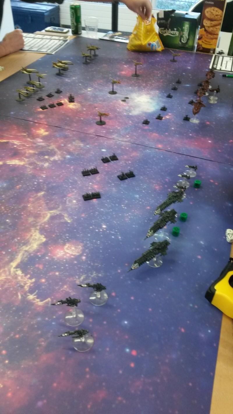 [Navy/Chaos vs Eldars/Ty] Initiation BFG 20150210